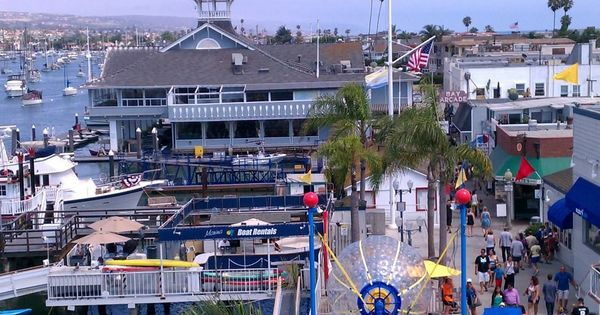 Balboa Island From The Ferris Wheel On The Island California Girl☀⛵ Pinterest Islands