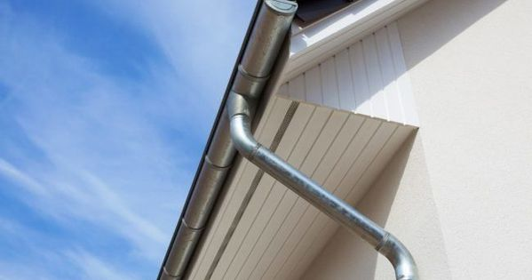 5 Types Of Rain Gutters To Consider For Your Home With Images Gutters Rain Gutters Downspout