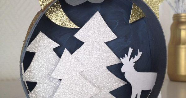 Decoration De Noel Boite Camembert