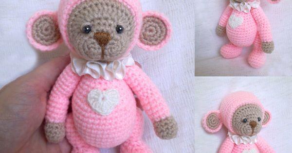 Egyedi Horgolt Jatekok Crochet Toys Toys Teddy Bear