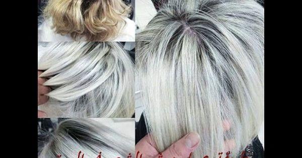 احصلي على الاشقر الزيتي الرمادي الثلجي البلاتين بنفسك في المنزل بالارقام والطريقة والخطوات Youtube Youtube Hair Styles Beauty