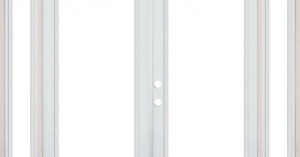 8 39 0 wide full lite steel patio french double door unit for Double wide french doors