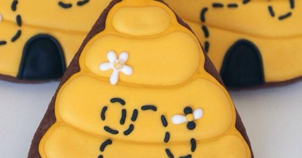 rosh hashanah decorated cookies