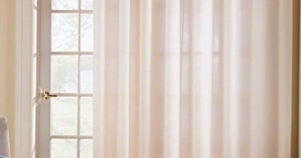 Thermavoile Grommet Top Patio Door One 104 X84 Panel Aqua Improvements By Improvements 63