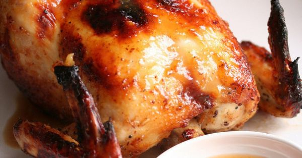 - Roasted Chicken with Sweet Plum Sauce by Steamy Kitchen | Chicken ...