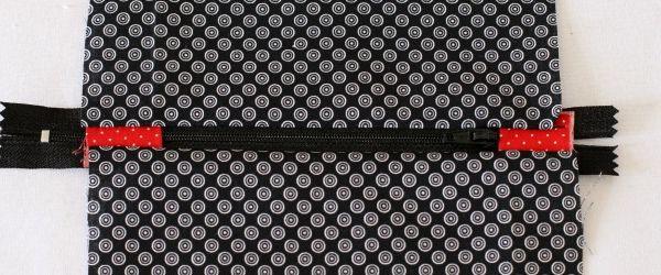 Diy couture comment poser proprement une fermeture clair tuto inside lulu factory - Tuto couture pochette fermeture eclair ...