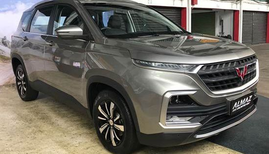 Harga Wuling Almaz 2021 Dan Spesifikasi Resmi Di Indonesia Otomotifo Mobil Indonesia Gambar