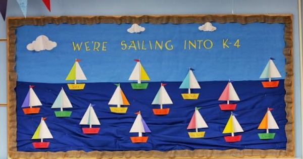 Winter Classroom Idea ~ Back to school we re sailing into a new year