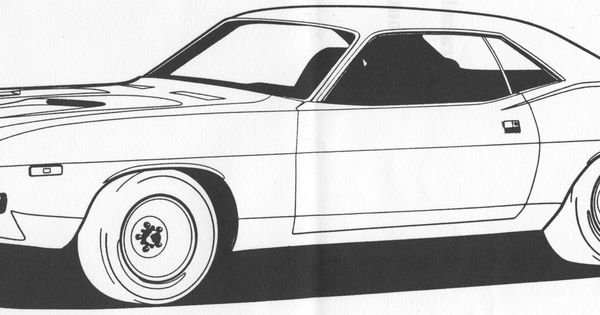 Barracuda Car Coloring Pages : Barracuda car coloring pages for kids autos post