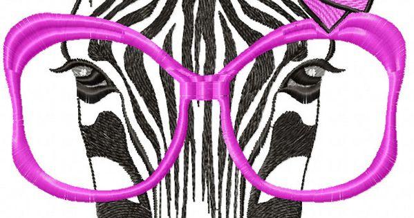 Zebra free embroidery design animals machine