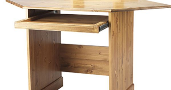 Corner standing desks desk corner and monitor stand pine corner desk with monitor stand from - Pine corner desks ...