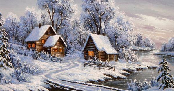 Thomas Kinkade Christmas Villages