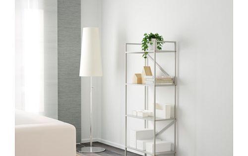 Draget hylla gr n ikea for Ikea draget