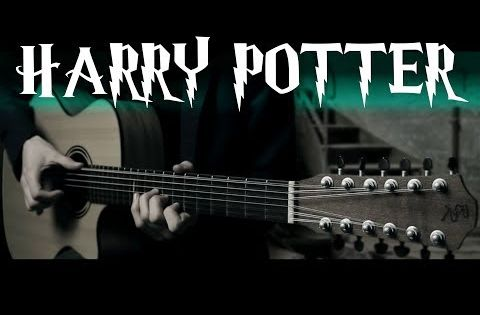 Garri Potter Na 12 Strunnoj Gitare Youtube Harry Potter Harry Potter