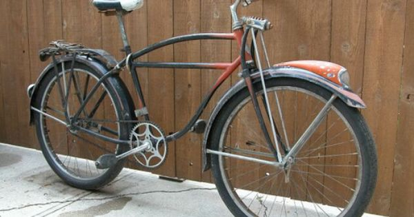 1954 Schwinn Black Phantom Bicicletas