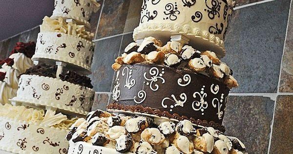 Pinterest Wedding Cakes: Cannoli Wedding Cake