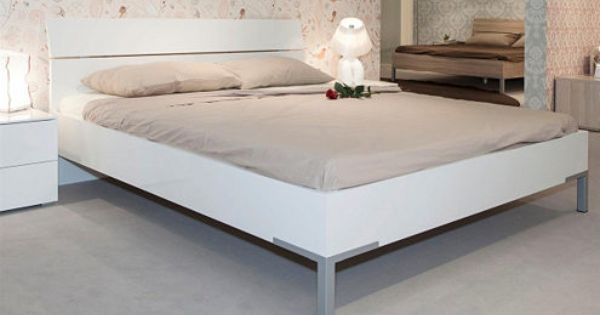 Composad Bett 180 X 200 Cm Hochglanz Weiss Privilegio Bett 180x200 Weisses Bett Bett