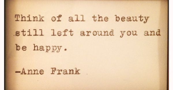 Anne Frank Quote Typed