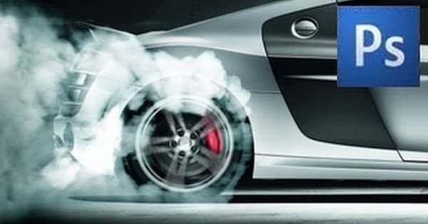 How To Create Tire Smoke In Photoshop Adobe Photoshop Photography Photoshop Tutorial Photoshop
