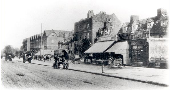Rushey Green And High Street Lewisham C 1890 Catford