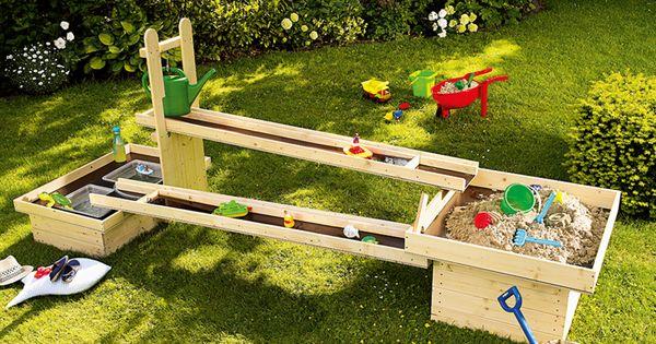 toom kreativwerkstatt wasserspielplatz pitsch patsch kinder outdoor pinterest. Black Bedroom Furniture Sets. Home Design Ideas