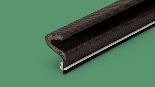 58 056 Swinging Door Compression Foam Seal Swisco Com Swinging Doors Weather Stripping Door Sealing