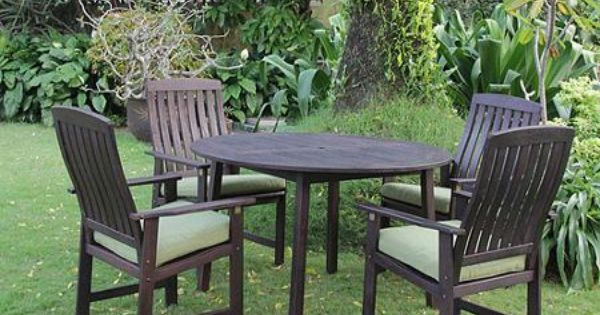 delahey 6 piece outdoor wood dining set download
