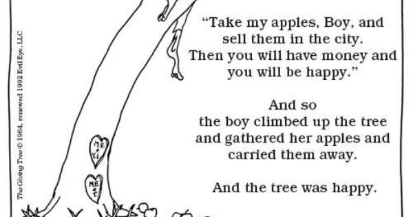 Giving Tree Shel Silverstein Quotes: The Giving Tree / Shel Silverstein