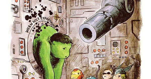 The Avengers x Winnie The Pooh Mashup by Charles Paul Wilson III