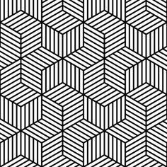 Wallpaper 01228590 Chevron 6 Bars Striped Cubes Obrazec