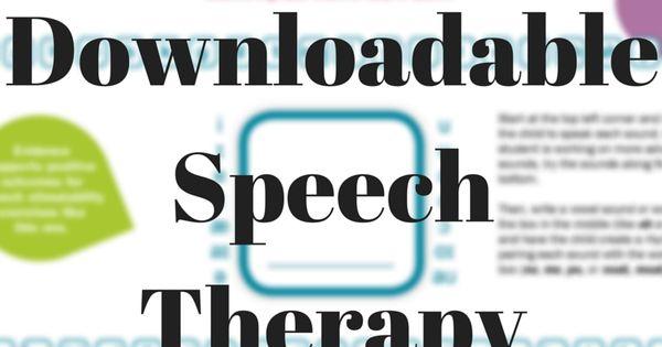 speech therapy warmup speech and language kids free