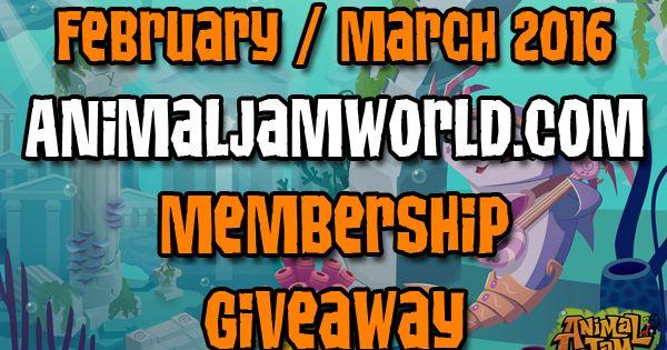 animal jam how to get free membership 2016