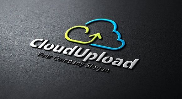 Cloud Upload Logo – for cloud base company