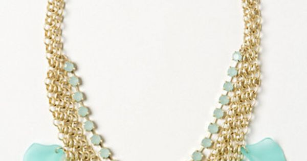 ShopStyle: AnthropologieFrosted Lily Necklace
