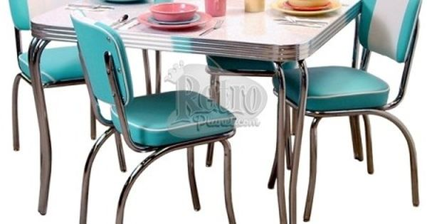 1950s Decorating Style Retro Kitchen, 50s Dining Room Furniture