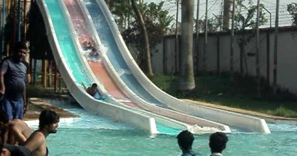 The Awesome Water Sliding With Full Excitement At Aquatica Water Park Of Kolkata Water Park Water Slides Water