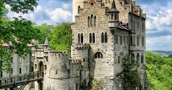 Lichtenstein Castle, Baden-Wurttemburg, Germany. The original Cinderella Castle. who says architecture cant