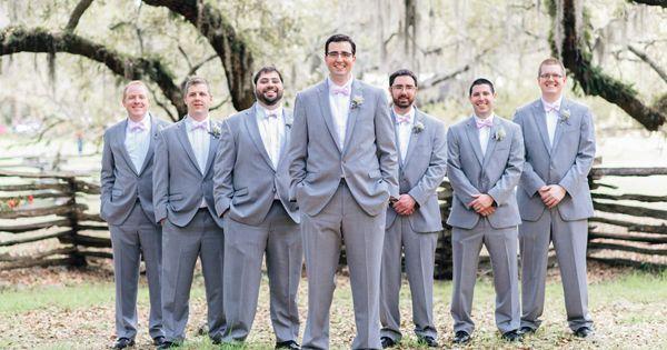 Wedding tie - gray suit groomsmen | Pasha Belman #wedding