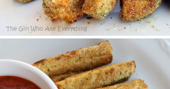 Healthier Choices: Zucchini Fries