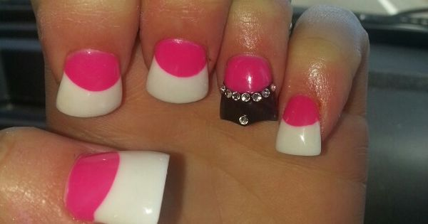 Fashion Nail Beauty Spa Elizabeth Nj: Crown Cut Flare Nails. Duckfeet Nails