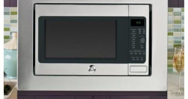Ge Profile 1 5 Cu Ft Countertop Convection Microwave In Stainless Steel Built In Capable With Sensor Cooking