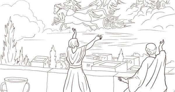 Elisha and the Invisible Angel