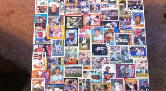 Baseball card table or bar top. | DIY Ideas | Pinterest ...