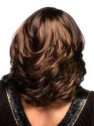 Back View Shoulder Length Layered Haircuts For Thick Hair 44