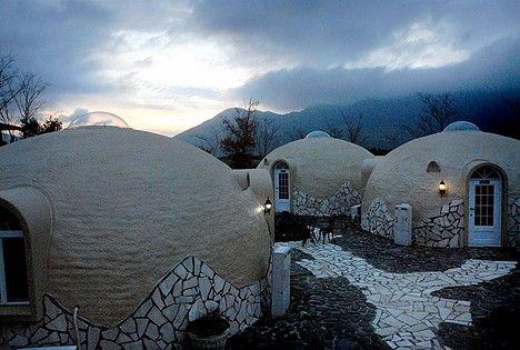 Go Styrofoam Dome Home House