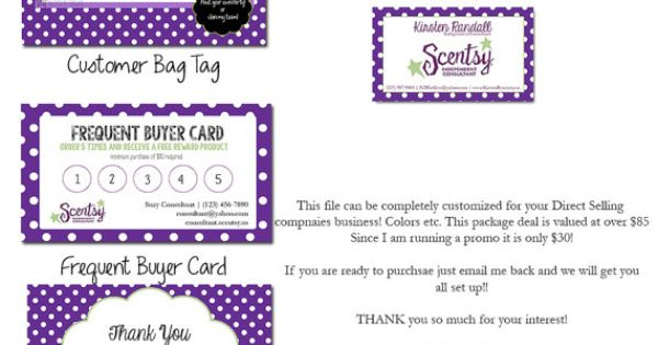 Scentsy Consultant Business Package By HannaLandisDesigns On Etsy