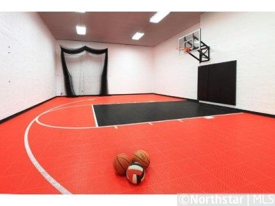 Eden Prairie Mn Real Estate Listings Basketball Room Indoor Basketball Court Indoor Sports Court