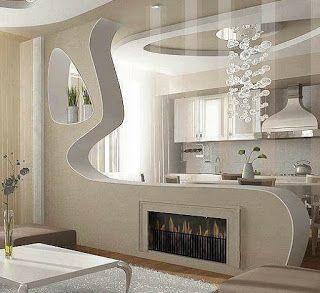 اقواس جبسية اقواس جبسية عصرية اقواس جبسية للمداخل اقواس جبسية للصالات اقواس جبسية مغرب Kitchen Remodel Design Modern Home Interior Design Modern Kitchen Design