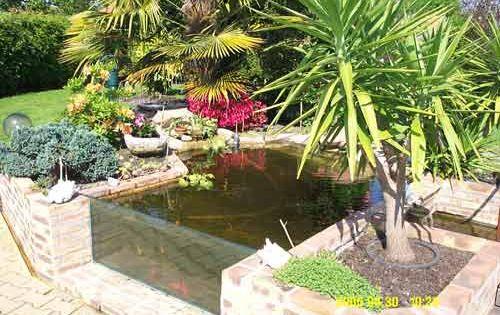 Vue sur la vitre du bassin hors sol bassin pinterest bassin hors sol carreaux de fen tre - Amenagement bassin hors sol paris ...