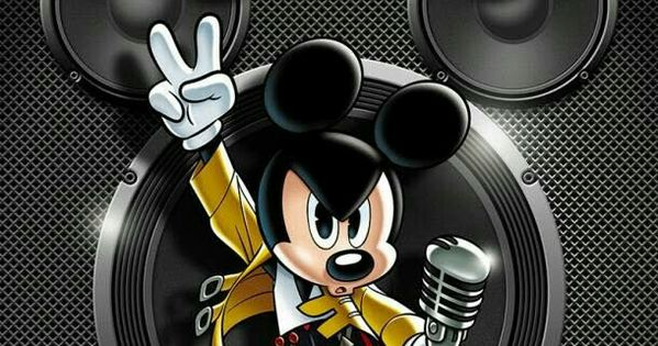 Mickey As Freddie Mercury Il Love Other So Much